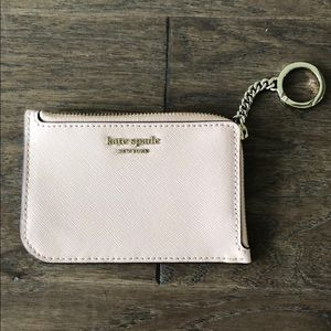 NWT Kate Spade medium 1-zip card holder